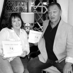 Cary-Hiroyuki Tagawa and Alyona Plekhanova_Five Element Samurai_discussion