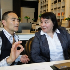 Mark Dacascos and Alyona Plekhanova-About movie of Mark